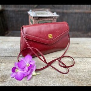 Authentic Givenchy Bordeaux Red Crossbody Bag